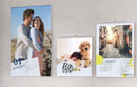 Calendarios de pared personalizables por y para ti