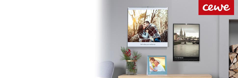 Encabezado de calendarios personalizados con foto CEWE