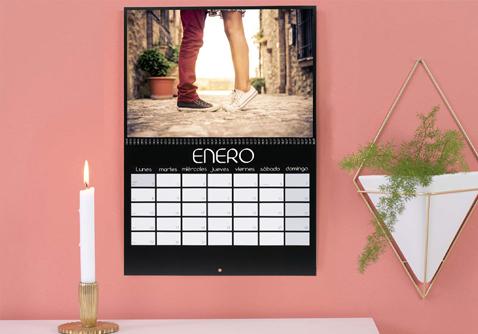 Calendario de pared A3 personalizado con foto