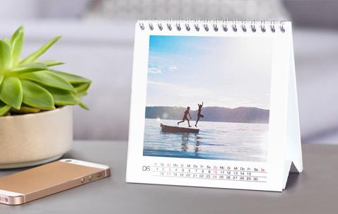 Calendarios de mesa personalizados para tu escritorio de trabajo o tu casa