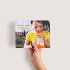 Álbum de fotos digital pequeño panorámico fotolibro